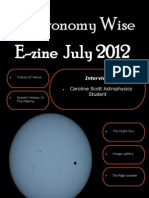 Astronomy Wise July Ezine