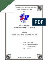 Triển khai dịch vụ Game Online