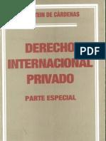 FELDSTEIN de CÁRDENAS, Sara - Derecho Internacional Privado (Parte Especial)