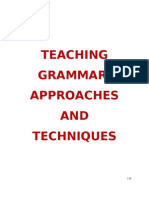 32940484 Compendium in Teaching Grammar Its Techniques Approaches and Strategies