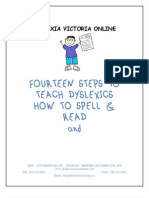 Fourteen Steps to Teach Dyslexics 7 Steps