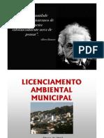 Palestra Licenciamento Ambiental 27-03-12