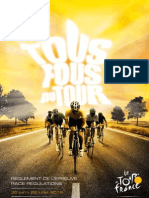 Tour de France 2012 Regulations