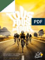 Tour de France 2012 Regulations