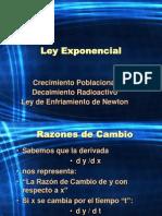 Ley Exponencial