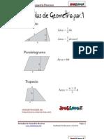 Formulas de Geometria