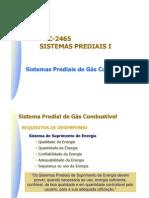 Sistema Predial de Gás Combustível