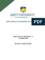 2af73Practical Training - I Guidlines 2010- 2014 Batch (1)