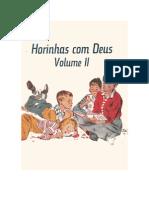 Horinhas Com Deus Vol II- Martin P. Simon e Allan Hart Jahsmann
