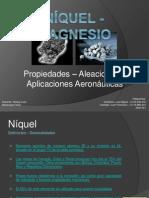 Expo Níquel - Magnesio