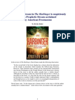 A Masonic-type Dream in 'The Harbinger'