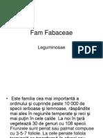 Fam Fabaceae