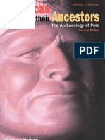 MOSELEY, M. The Incas and Their Ancestors - The Archaeology of Peru