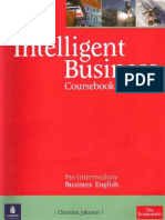 LONGMAN Intelligent.business Pre-Intermediate Coursebook