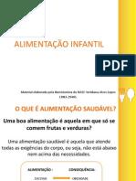 ALIMENTAÇÃO E NUTRIÇÃO INFANTIL Palestra