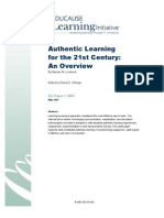 Authentic Learning for the 21st Century