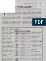 Consumer Reports Buying Guide 2012 - Auto Reliability