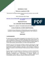 SENTENCIA C -733 de 2003 - Prevalencia Del Principio Del Derecho Sustancial Sobre La Forma
