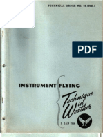 Instrument Flying - Technique in Weather