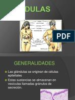 TEJIDOS GLANDULARES