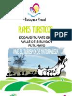 Planes Turisticos Turisyaco Travel Valle de Sibundoy Putumayo