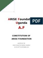 Constitution Arise Foundation