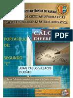 Portafolio de Calculo Diferencial