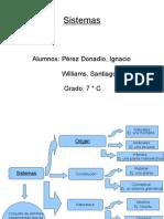 Sistemas Pérez Donadío-Williams