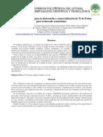 Proyecto de Inversión para la elaboracion y comercializacion de Té de frutas