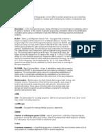 GlOsario Bioinformatica