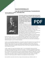 Las obras dramáticas de Arnold Schönberg (1)_ Introducción (Por Manuela Mesa)