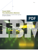 IBM Travel 2020 Distribution Dilemma