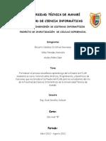 PROYECTO DE INVESTIGACION  DE CÁLCULO DIFERENCIAL