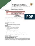 Fase 4. Diario Metacognitivo