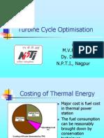Turbine Cycle Optimisation