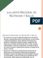 Encuesta Nacional de Nutrición y Salud POWER