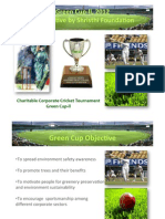 GreenCup Tournament Info