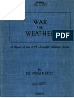 AAF Scientific Advisory Group War & Weather