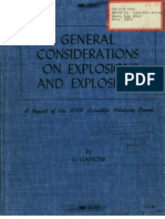 AAF Scientific Advisory Group General Considerations on Explosions & Explosives c9 Pt1