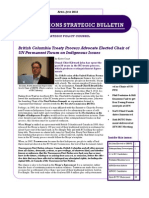 First Nations Strategic Bulletin April-June 2012