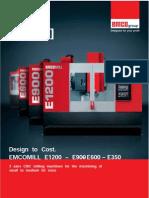 Anexo 2 - Fresadora Emcomill e600