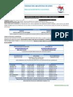 Reglamento Clausura San Juan 2012