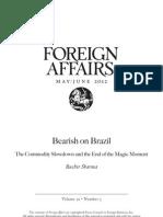 Bearish on Brazil