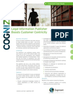 Legal Information Publisher Boosts Customer Centricity