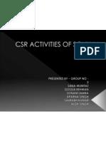 Csr Activities of Sony in 2010-11