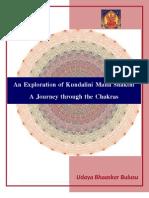 An Exploration of Kundalini Maha Shakthi – A Journey through the Chakras By Bulusu Udaya Bhaaskar