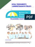Manual Treinamentu Administrasaun Edisi III, By Plas