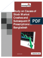 Stock Market Crashes in Bangladesh