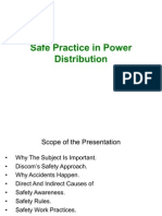 Safe Practice in Power Distribution 1
