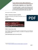 Como Crear Certificados Digitales Con OpenSSL
